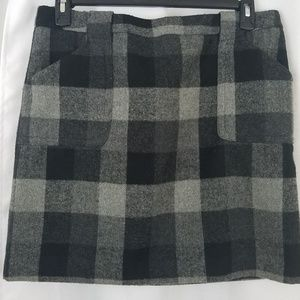 Liz Claiborne Plaid Skirt Size 12